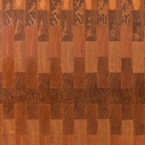 Wide Stave End Grain - Oak