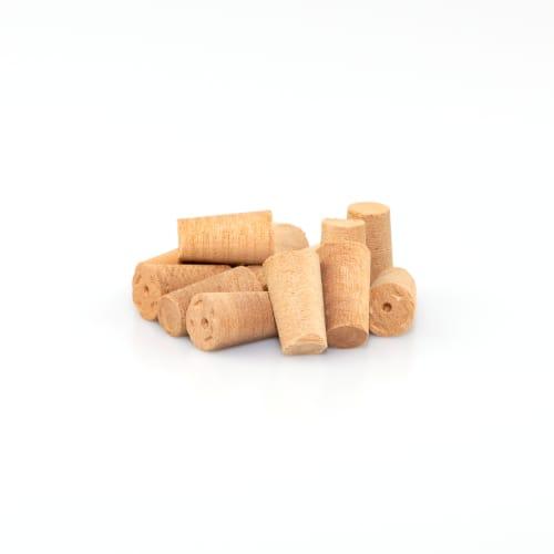 Cross Grain Cherry Tapered Plugs - Box of 100