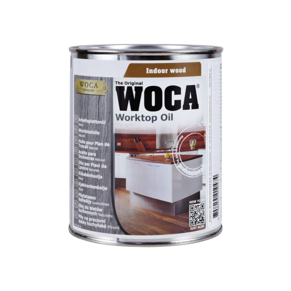 Woca Worktop Oil Natural - 750ml