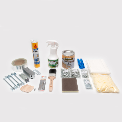 Installation Packs for Solid Wooden Worktops