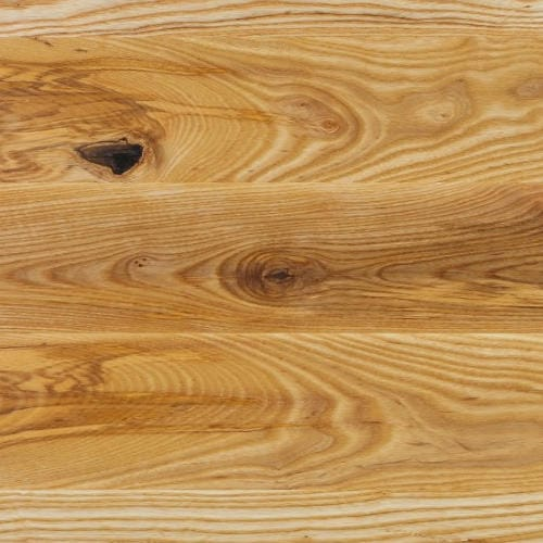 Wide Stave Worktop - American White Ash Character Grade -