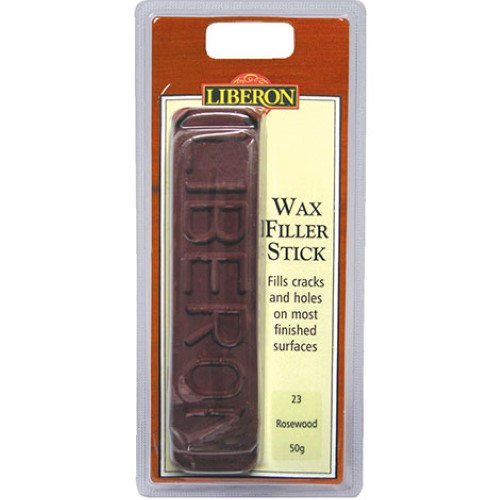 Liberon Wax Filler Stick - 50g Rosewood 23