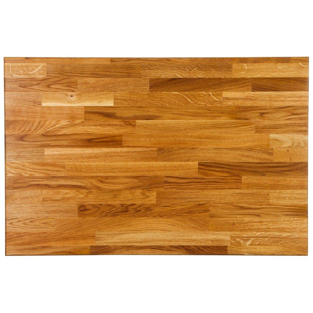 Block Style Worktop - Character Oak