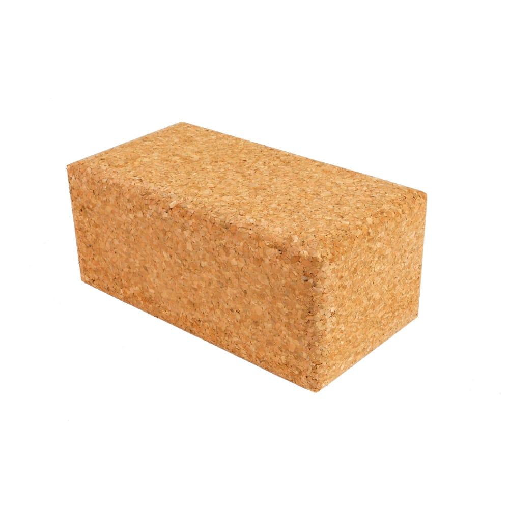 Cork Yoga Block - 227 x 120 x 65mm