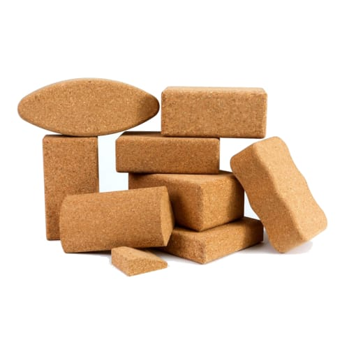 Cork Yoga Blocks & Wedges