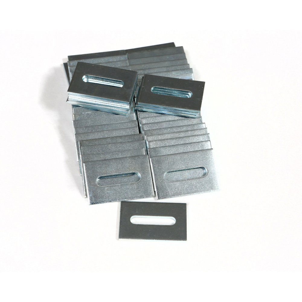 Slotted Washers - Square