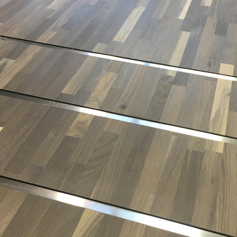 Rebated Stainless Steel Bracing Bars
