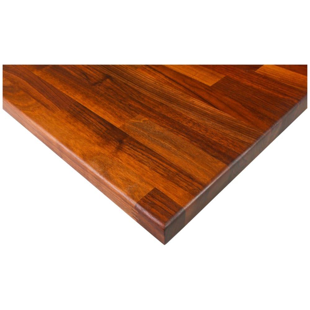 Block Style Worktop - Walnut