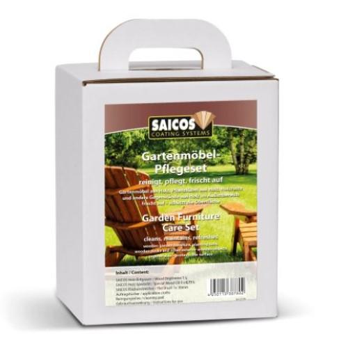 Saicos Special Wood Oil - Garden Furniture Care Set (8178)