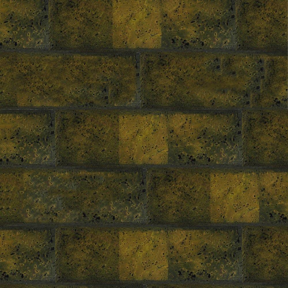 Muratto Bevelled Cork Bricks - Green