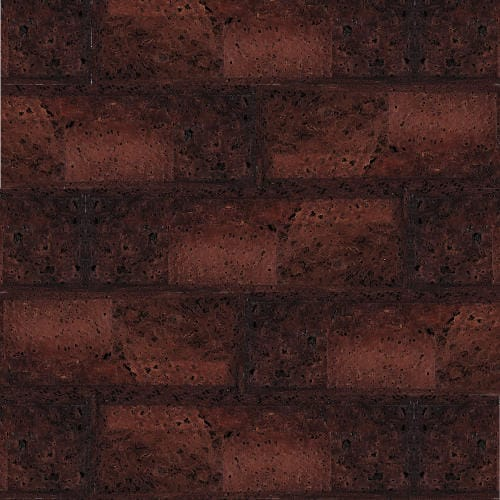 Muratto Bevelled Cork Bricks - Terracotta