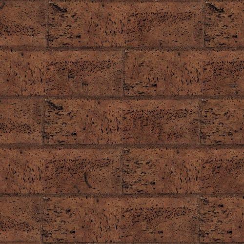 Muratto Bevelled Cork Bricks - Brown