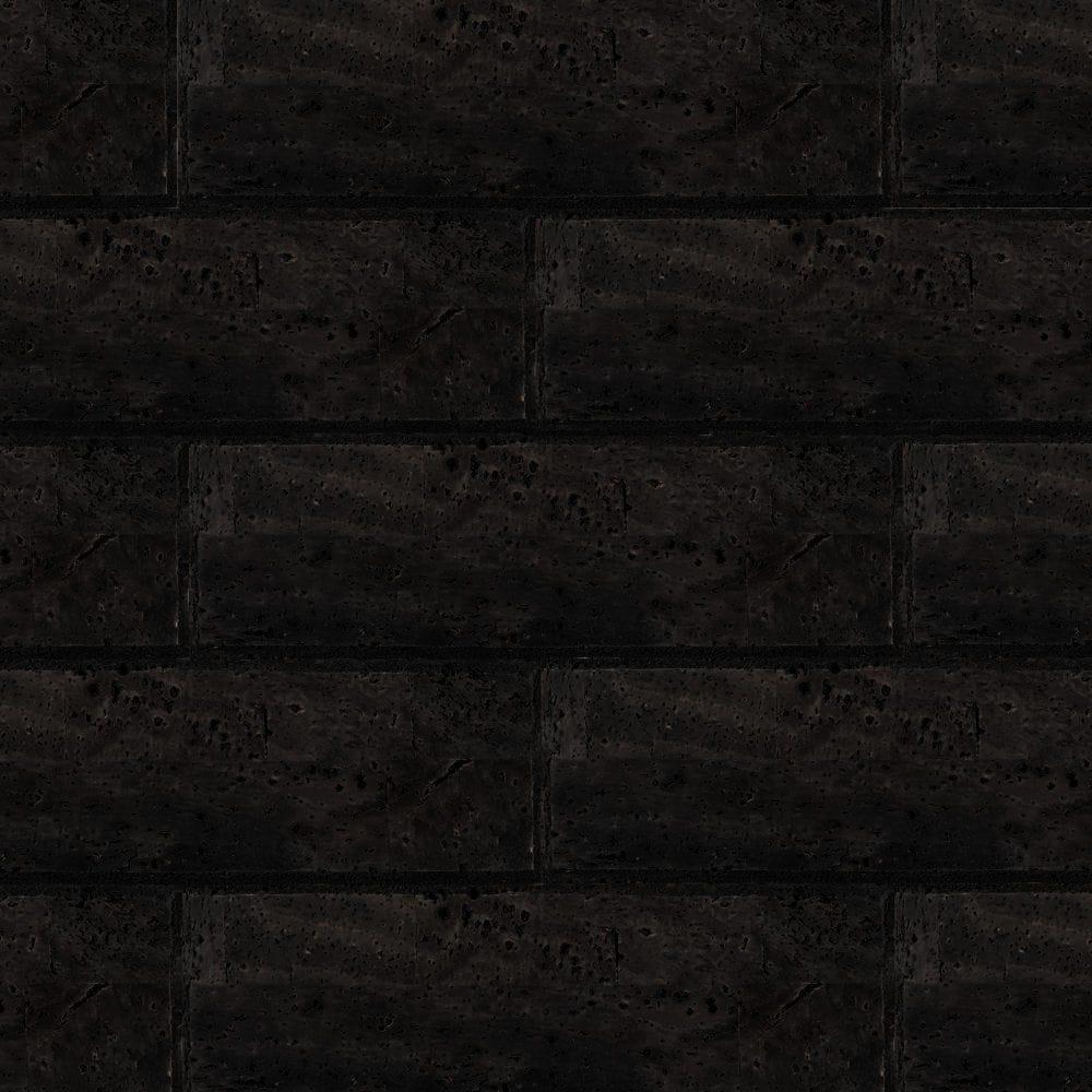 Muratto Bevelled Cork Bricks - Black