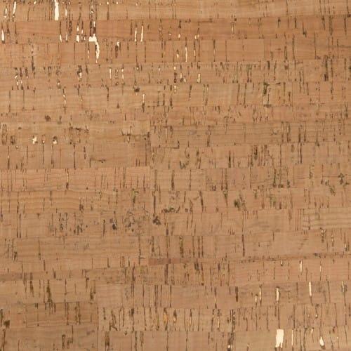 DesignCork Fabric - Natural & Gold
