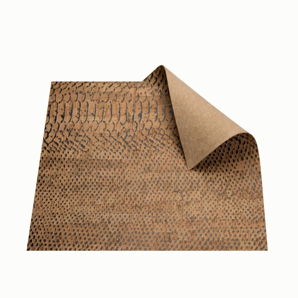DesignCork Fabric - Alligator