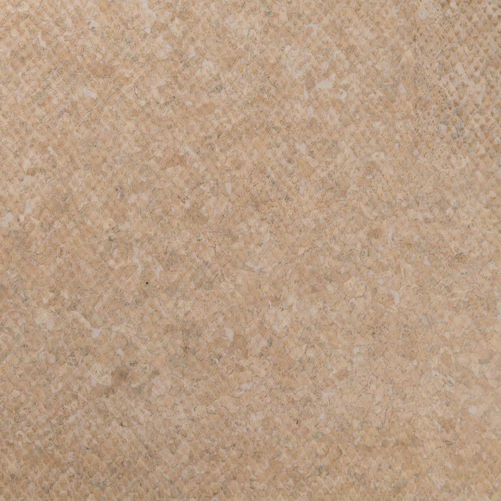 DesignCork Fabric - Snake White