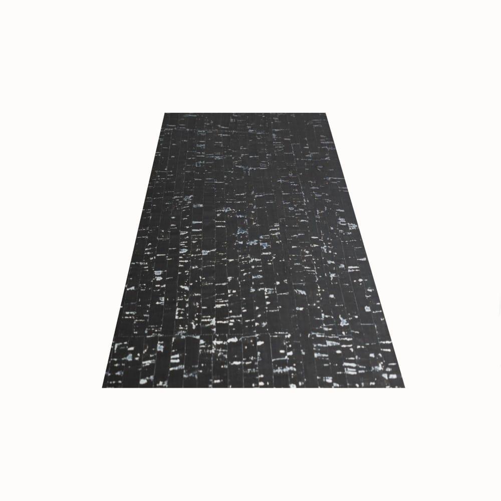 DesignCork Fabric - Black & Silver