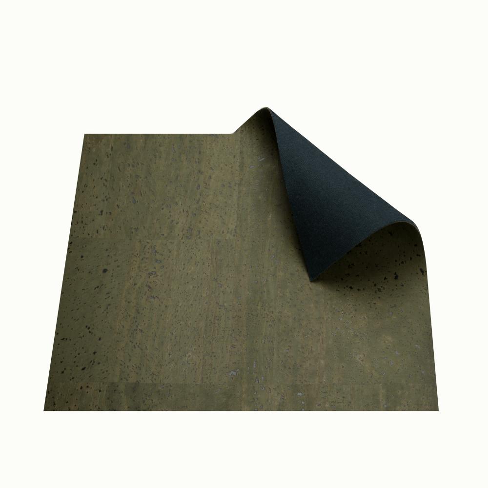 DesignCork Fabric - Army Green