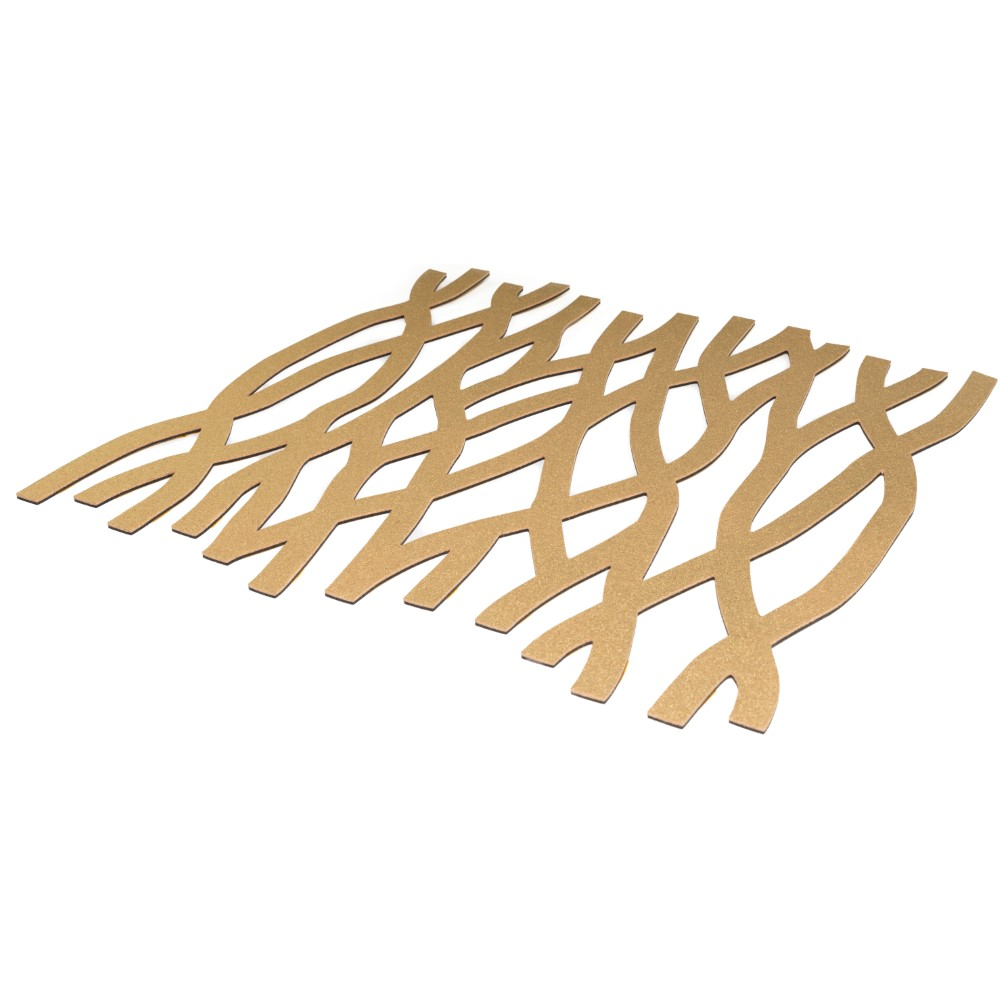 Muratto Pattern Tiles - Roots - Gold