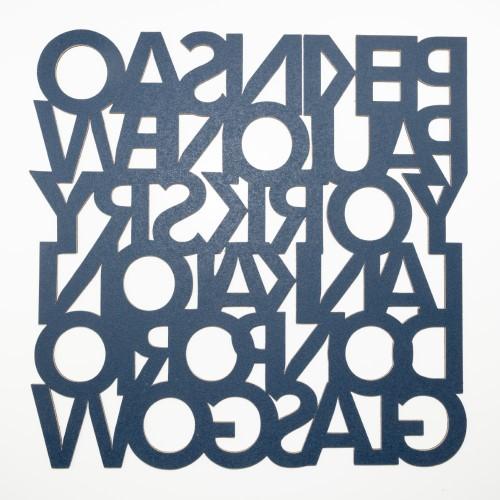 Muratto Pattern Tiles - Cities - Deep Indigo
