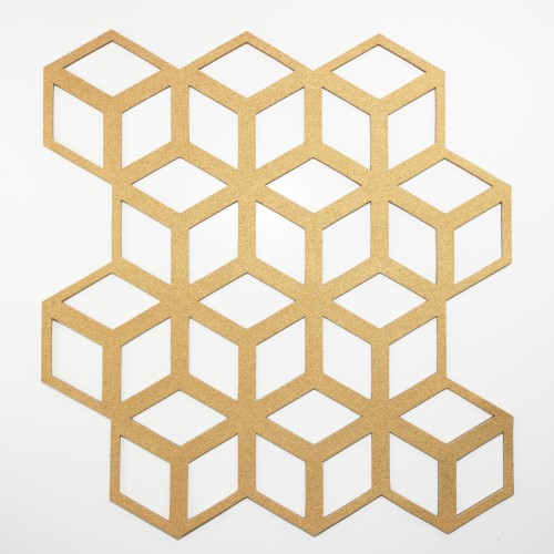 Muratto Pattern Tiles - Cinetic - Gold