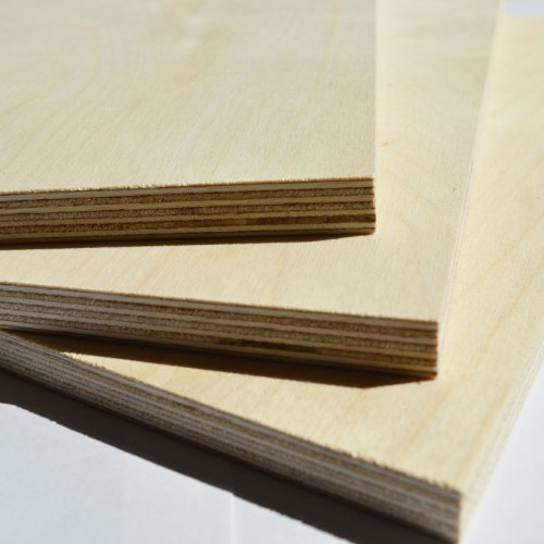 Plywood - Birch - S+/BB - 2440 x 1220 x 24mm