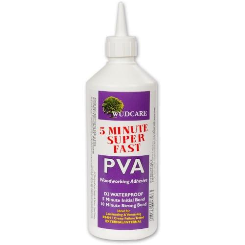 Wudcare Superfast PVA Waterproof Adhesive - 1 Litre