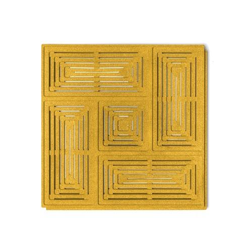 Muratto Organic Blocks - Buzzer - Yellow