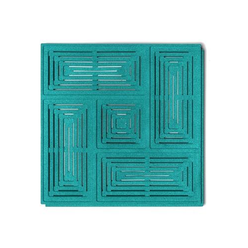 Muratto Organic Blocks - Buzzer - Turquoise