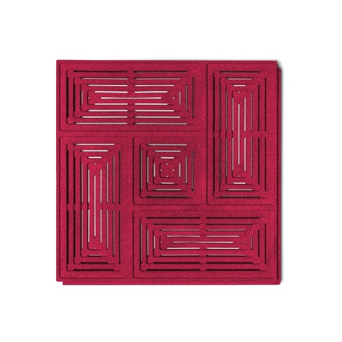 Muratto Organic Blocks - Buzzer - Red