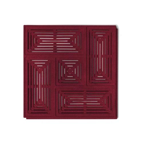 Muratto Organic Blocks - Buzzer - Bordeaux