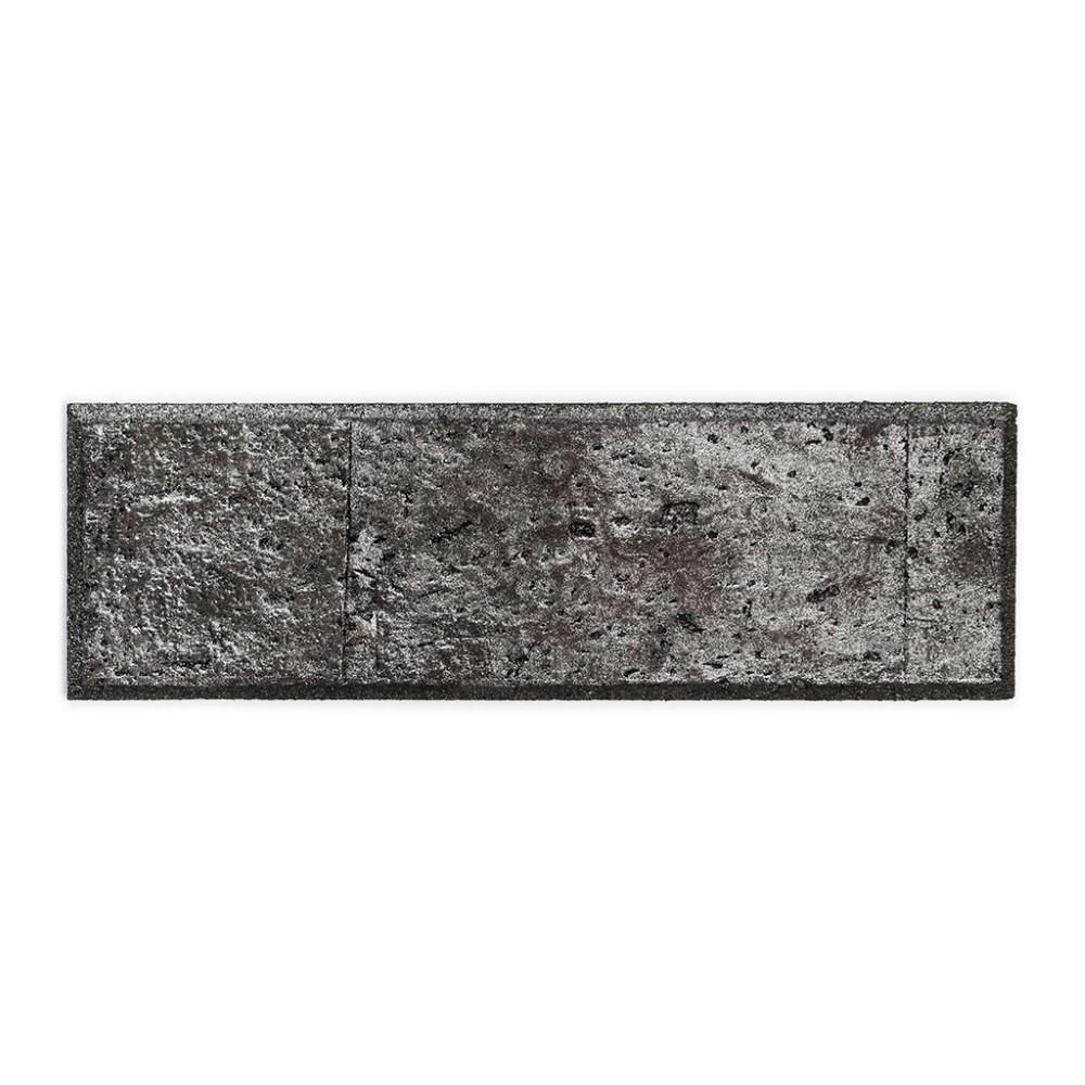 Muratto Bevelled Cork Bricks - Black Silver