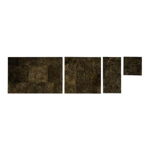Muratto Cork Bricks - Grand - Brown Gold