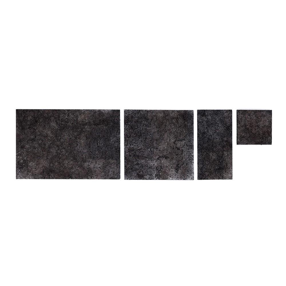 Muratto Cork Bricks - Grand - Black Silver