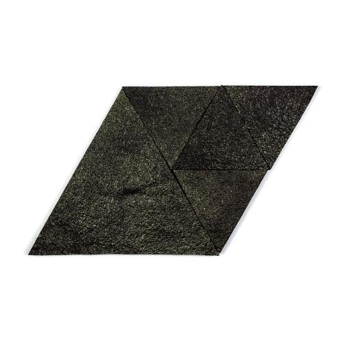 Muratto Korkstone - Triangle - Black Gold