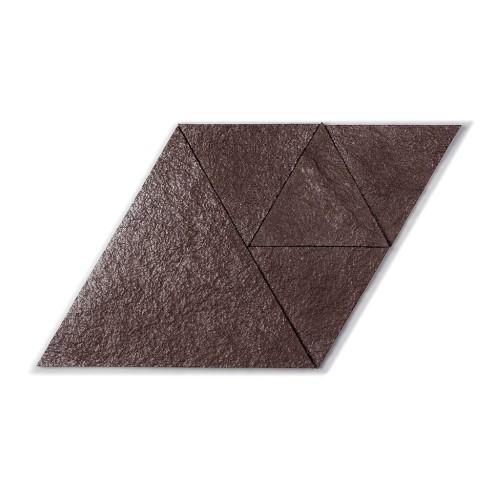 Muratto Korkstone - Triangle - Brown Silver