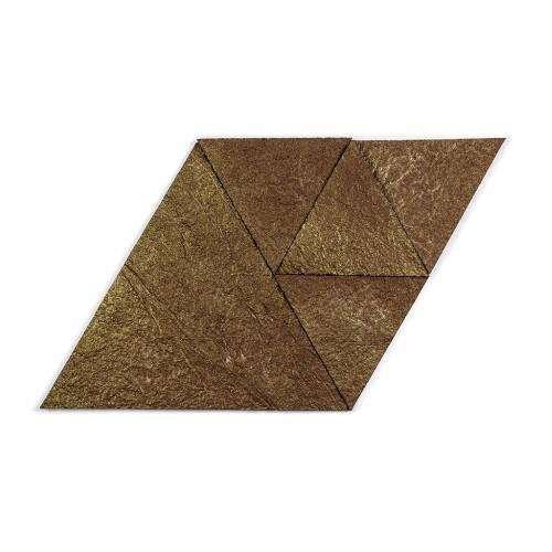 Muratto Korkstone - Triangle - Brown Gold