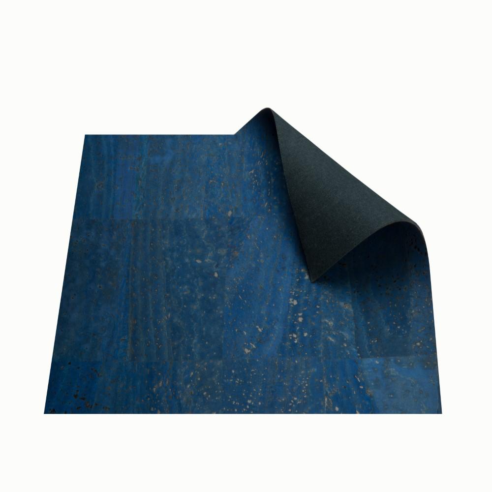 DesignCork Fabric - Denim Blue