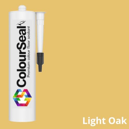 Colourseal Coloured Flooring Sealant - 310ml - Light Oak