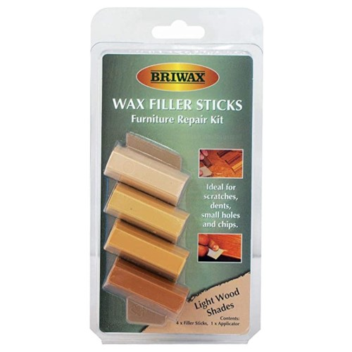 Briwax Wax Filler Stick Set - Light