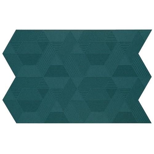 Muratto Organic Blocks - Strips - Geometric  - Emerald