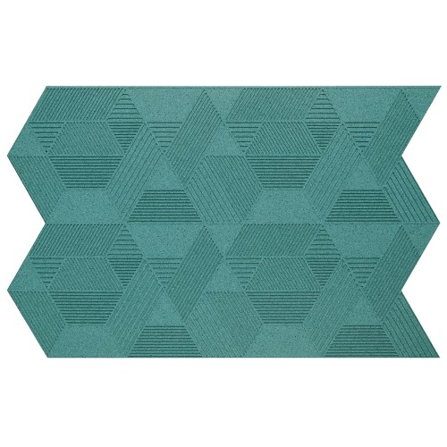 Muratto Organic Blocks - Strips - Geometric  - Turquoise