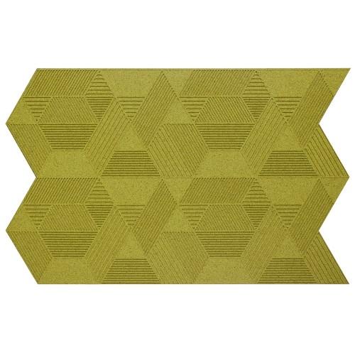 Muratto Organic Blocks - Strips - Geometric  - Olive