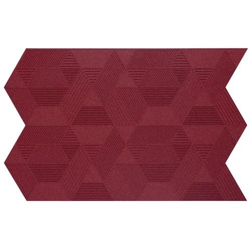 Muratto Organic Blocks - Strips - Geometric  - Bordeaux