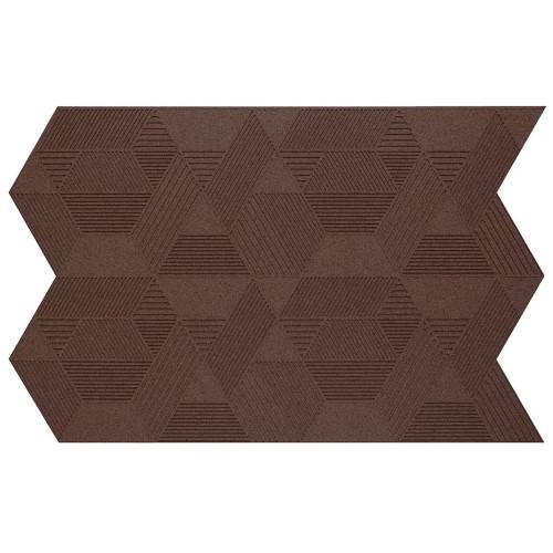 Muratto Organic Blocks - Strips - Geometric  - Aubergine