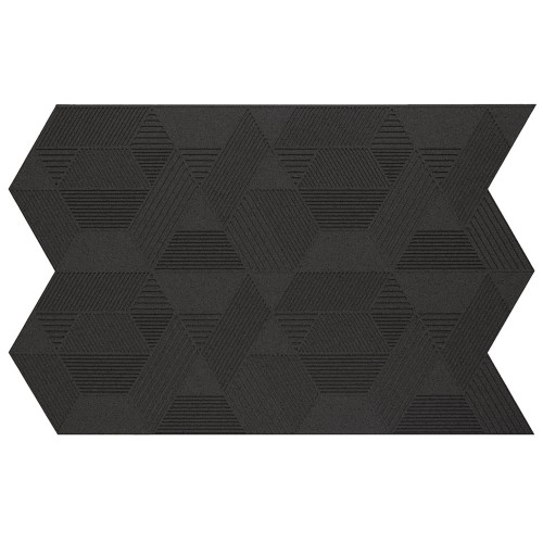 Muratto Organic Blocks - Strips - Geometric  - Black