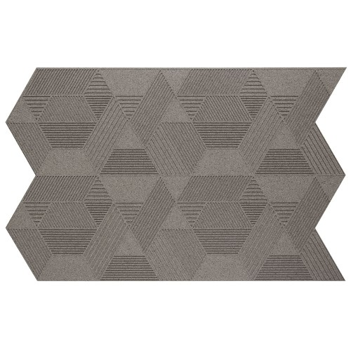 Muratto Organic Blocks - Strips - Geometric  - Taupe