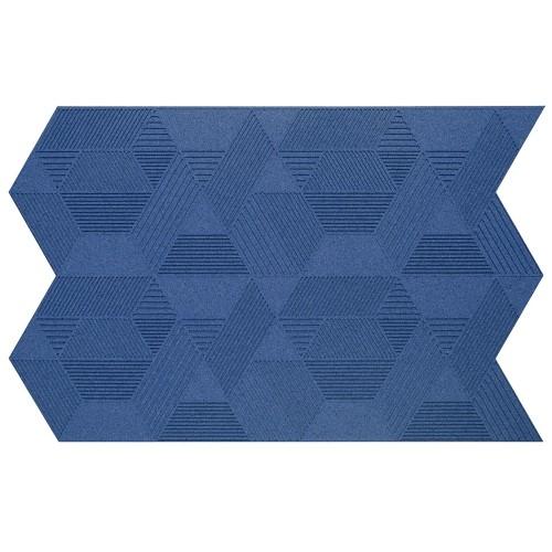 Muratto Organic Blocks - Strips - Geometric  - Blue