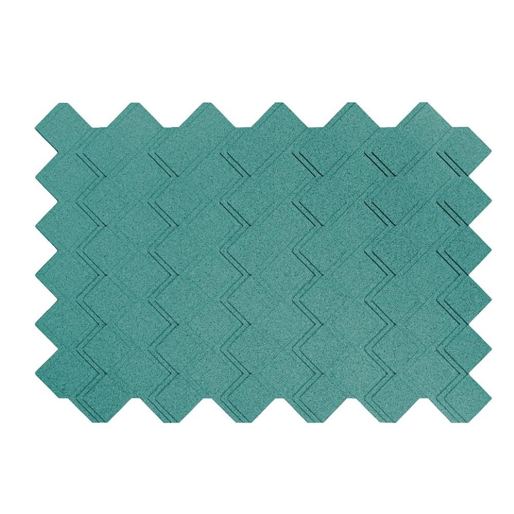 Muratto Organic Blocks - Strips - Step  - Turquoise