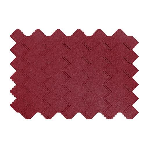 Muratto Organic Blocks - Strips - Step  - Bordeaux